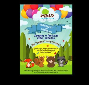 Frühlingsfest für alle Kinder am Samstag, 14. April 2018 15:00 – 18:00 Uhr