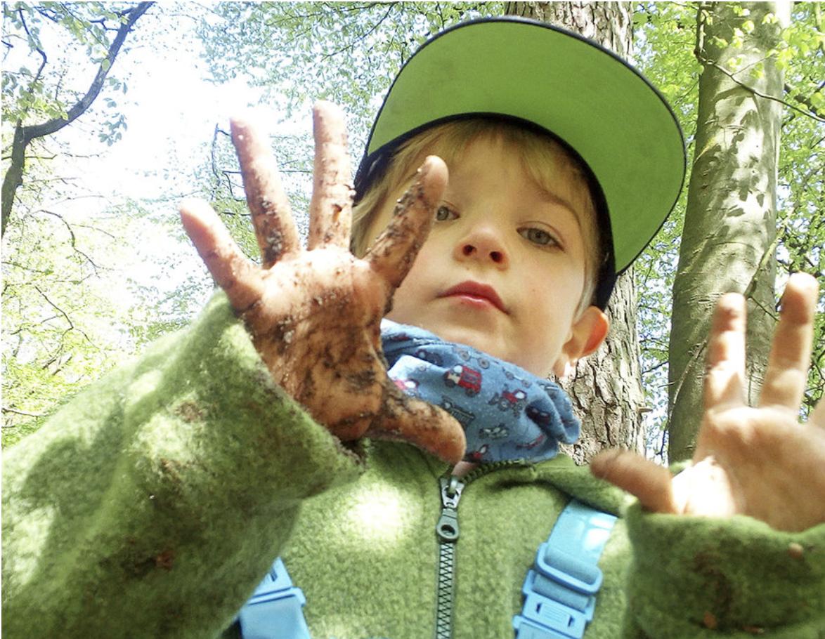 Fünf Stunden im Wald sind genug, sagt das Landesjugendamt Foto: Waldkindergarten Buxtehude
