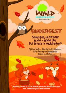 Kinderfest im Herbst am 15.09.2018 Waldkindergarten Buxtehude